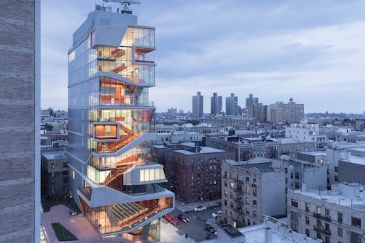 Roy and Diana Vagelos Education Center in New York, US by Diller Scofidio + Renfro. Photo: Iwan Baan.