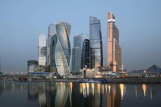 Federation Complex, 2017, Moscow. Photograph by Aleksey Naroditsky.