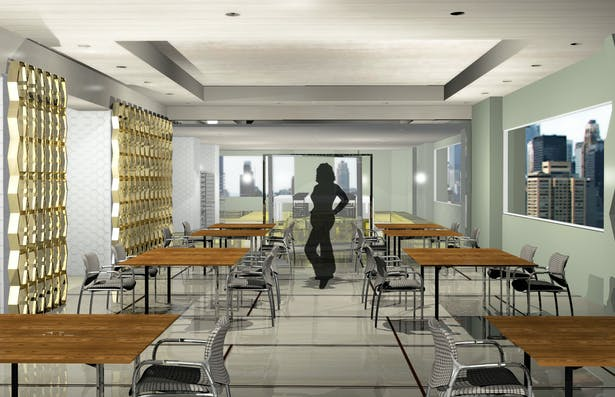 View-Cafe to Floral Room