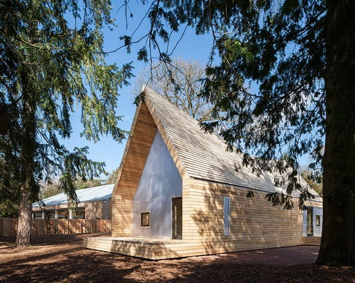 Wolfson Tree Management Centre, Tetbury, Gloucestershire by Invisible Studio. Photo: Andy Matthews.