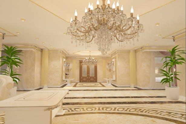 Design casa clasica cu mobila italiana