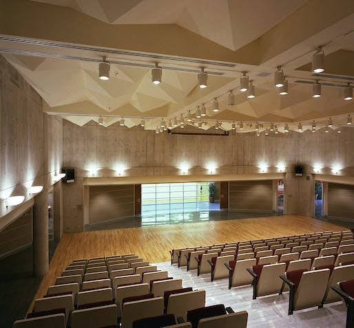 Auditorium. Photo: Fiona Spalding-Smith.