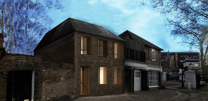 Richmond: Retreat Road project, redesign in response to conservation officers comments. Image courtesy of the architect.
