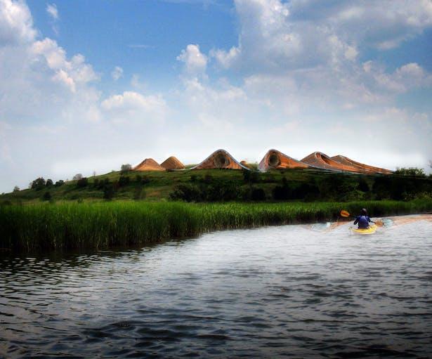 Fresh Hills Kayak View