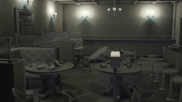 Speakeasy Room
