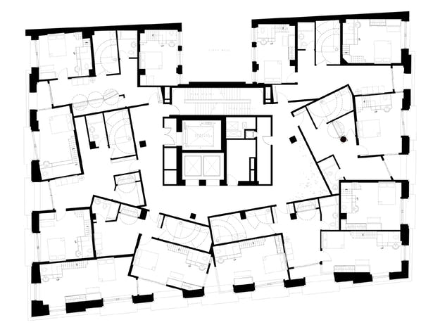 SEVENTH & NINTH FLOOR - condominium apts