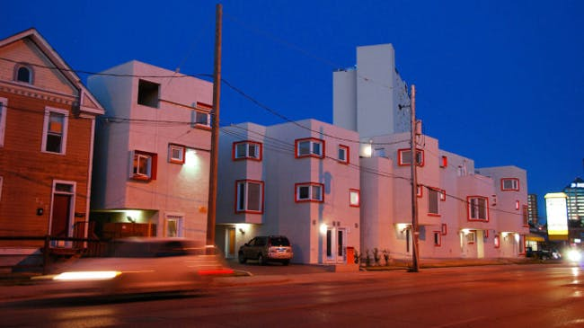 Centre Village by 5468796 Architecture