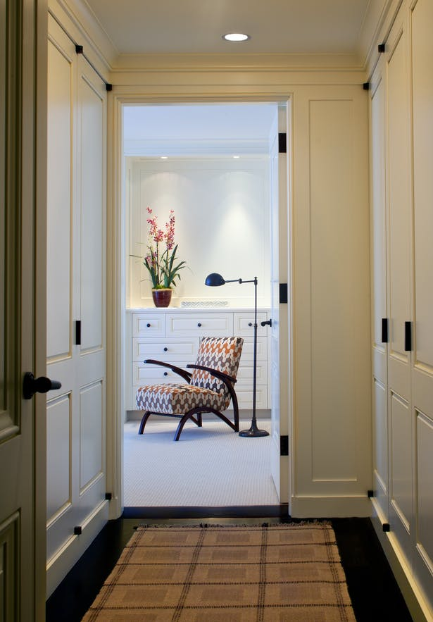 From Hall Dressing to Master Bedroom