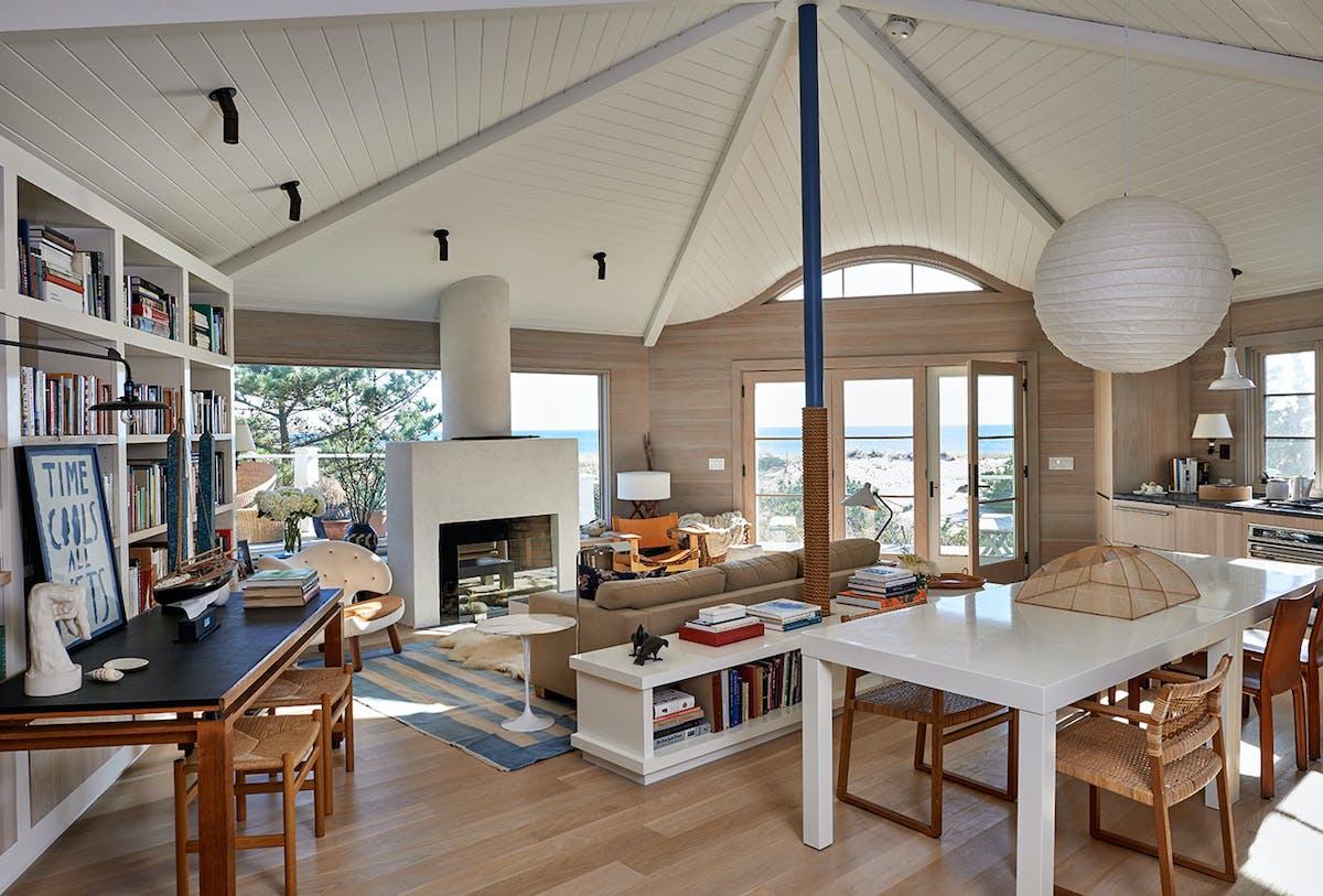 amagansett archinect davis meyer studio spaces ten living interior role