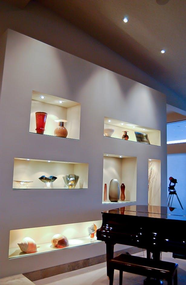 Living room wall