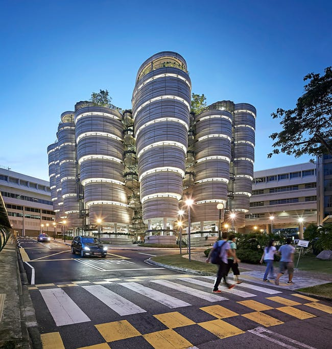 World Architecture Festival 2015 shortlist - Nanyang Technological University by Heatherwick Studio.