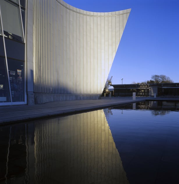 The Culture Island by schmidt hammer lassen architects