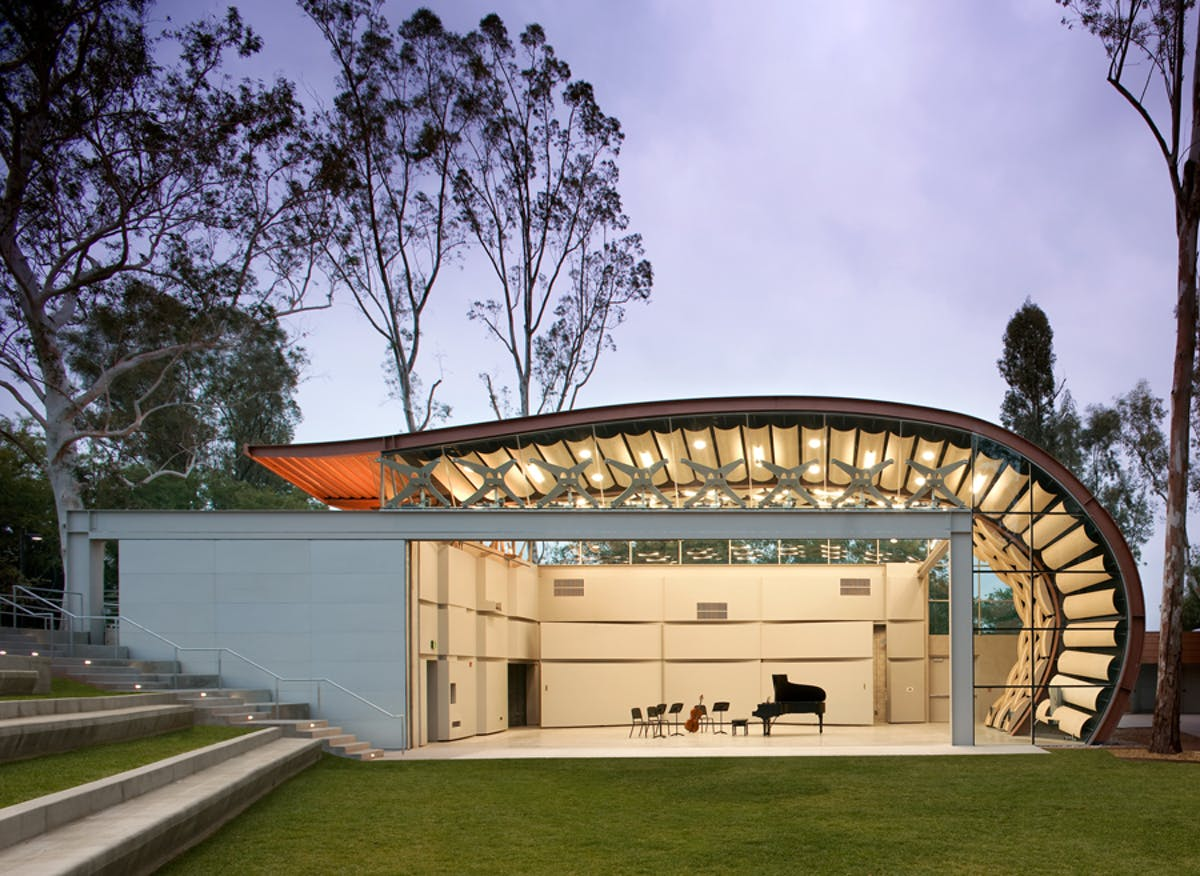 The wild beast calarts hodgetts fung archinect for Southern california architecture firms