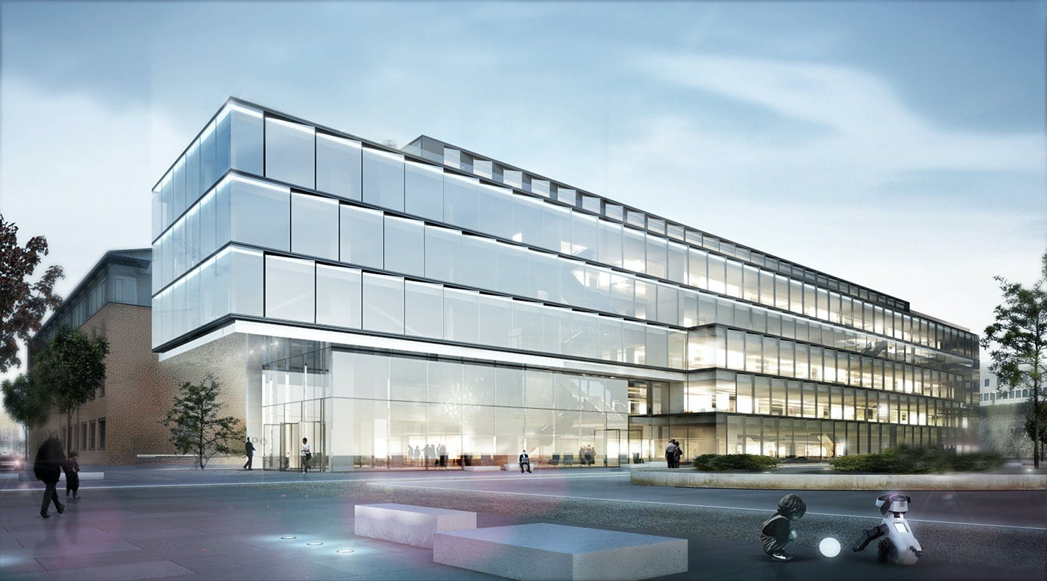 Henn To Design Glazed Software Factory In Karlsruhe Germany News