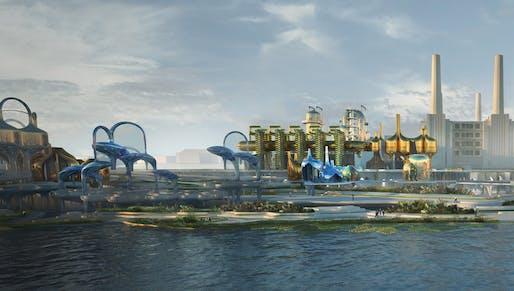 1st prize: Tidal Terrains. Author: Mary Denman (Architect/Designer) | USA.