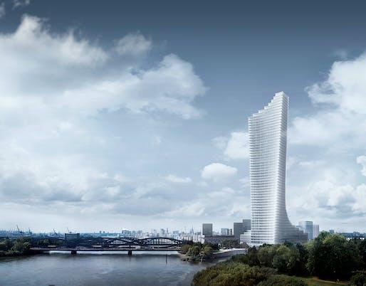 Elbtower. Image: David Chipperfield Architects