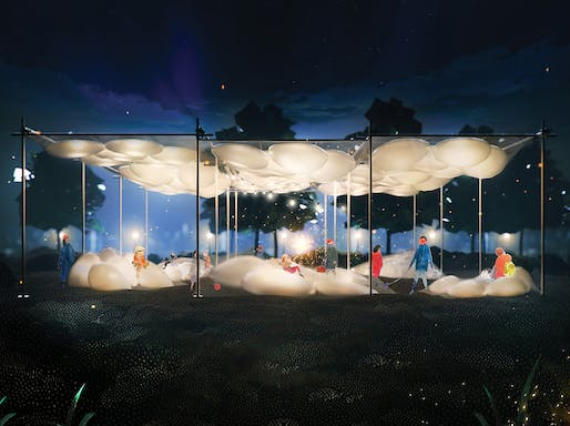 2020 City of Dreams Pavilion winning design: The Pneuma by Ying Qi Chen and Ryan Somerville​