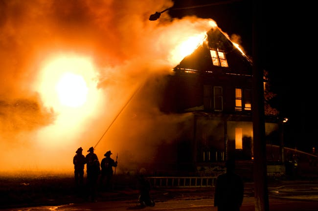 Devil's Night in Detroit (photo via dropsheet.com)