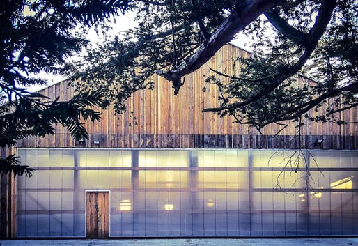 Wolfson Tree Management Center by Invisible Studio. Photo by Piers Taylor.