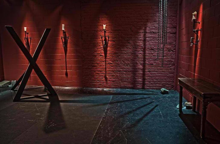 The 'Drome Room' set. Image courtesy Kink.com