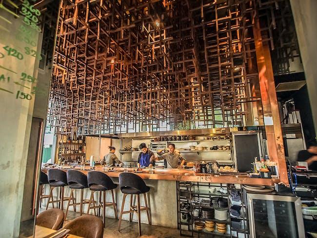 INSIDE World Festival of Interiors - Bars & Restaurants: Mecha Uma, Philippines by Jorge Yulo Architects & Associates.