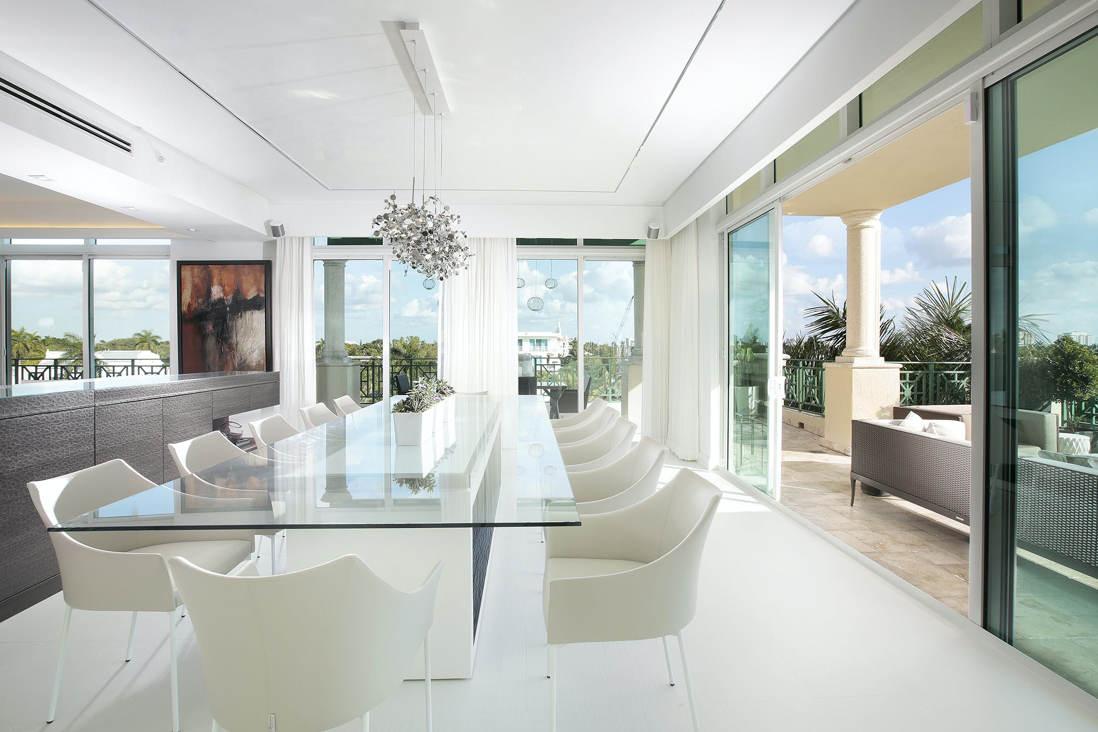 waterfront penthouse dkor interiors inc archinect