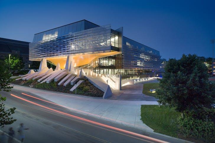 The Bill & Melinda Gates Hall at Cornell University. Image courtesy of Bill Zahner.
