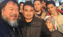 Ai Weiwei documents life in Greek refugee camp on social media