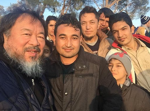 """Brave man from Afghanistan,"" Ai Weiwei's caption reads on Instagram (@aiww)."