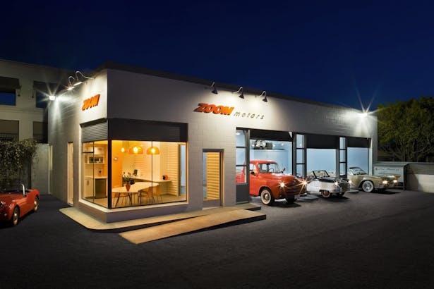 Zoom Motors Josh Blumer Archinect