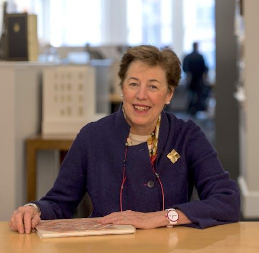 Ann M. Beha FAIA, principal of Ann Beha Architects. Recipient of the BSA Award of Honor.