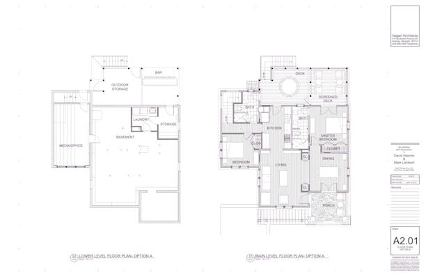 Floor Plans: Proposed