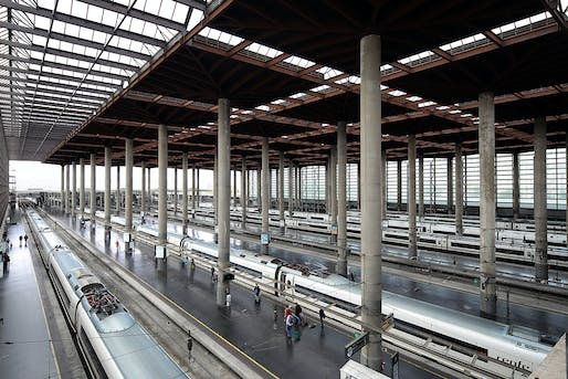 Madrid Atocha railway station, 1992, Madrid. Photo courtesy 2017 Praemium Imperiale Arts Award.