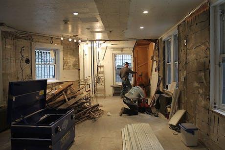Rosenberg & Co Gallery in construciton
