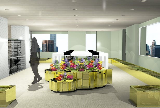 View-Floral Room
