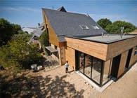 House extension - M - Construction & Project Manager with Jérôme Guilloux architect, France, 2011