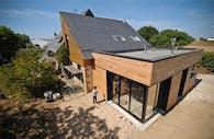 House extension - M - Construction & Project Manager with Jérôme Guilloux architect, France, 2011