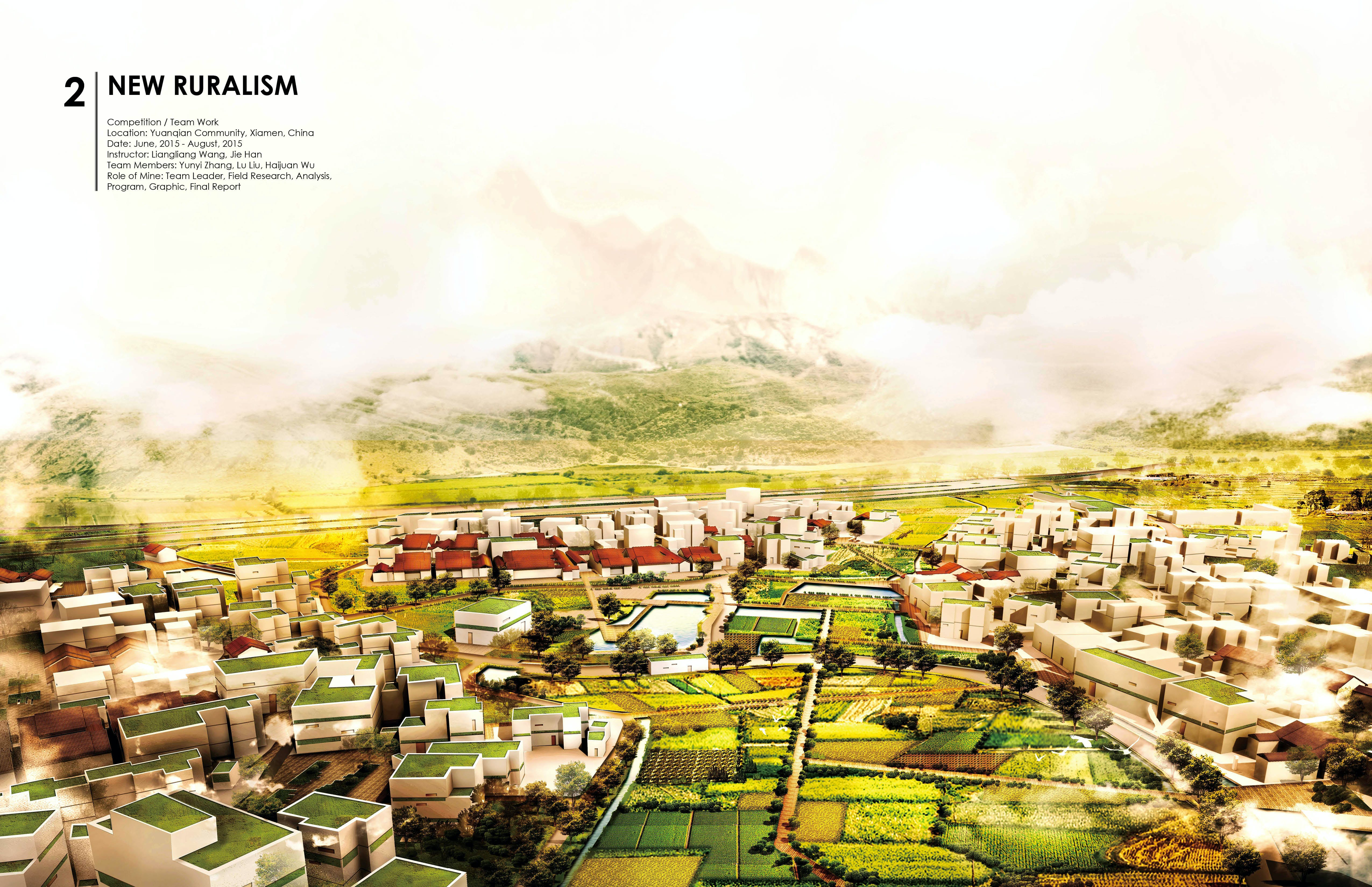 New Ruralism Development Planning Of Yuanqian Community In