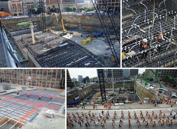 Wilshire Grand: Construction Photos