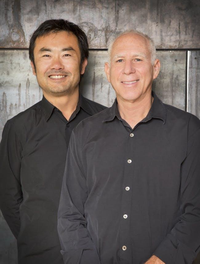 Takashi Yanai, AIA (Partner) and Steven Ehrlich, FAIA, (Founding Partner), photo by Miranda Brackett, courtesy of Ehrlich Architects.