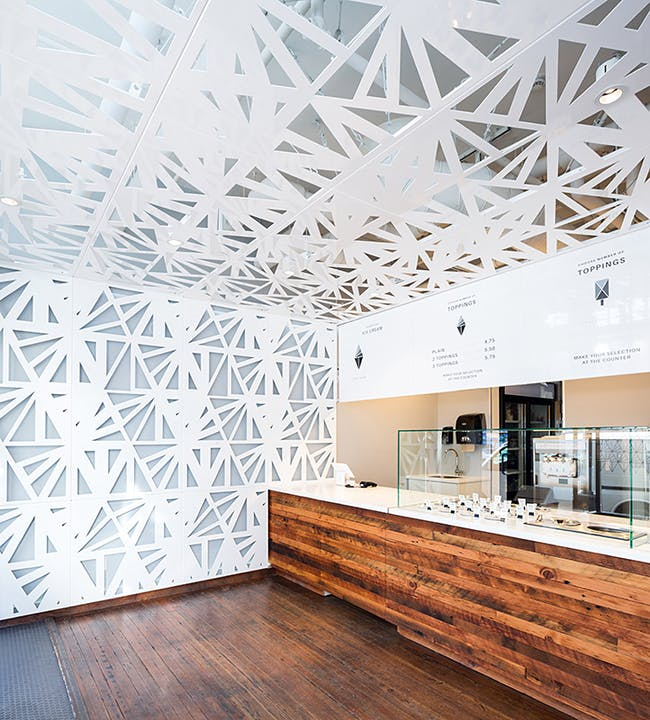 UYU Ice Cream in Vancouver, Canada by Leckie Studio Architecture + Design; Photo: Ema Peter