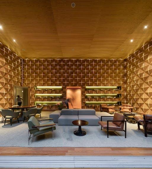 Hotel of the Year: Emiliano Hotel, Rio De Janeiro by Studio Arthur Casas. Image: Frame Awards.