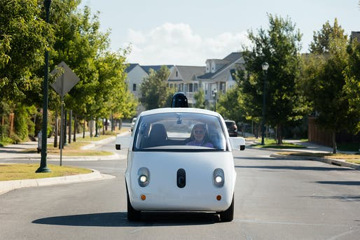 A new study by MIT's Center for Real Estate predicts denser city cores and more sprawling suburbs thanks to the rise of self-driving cars. Image: Waymo.