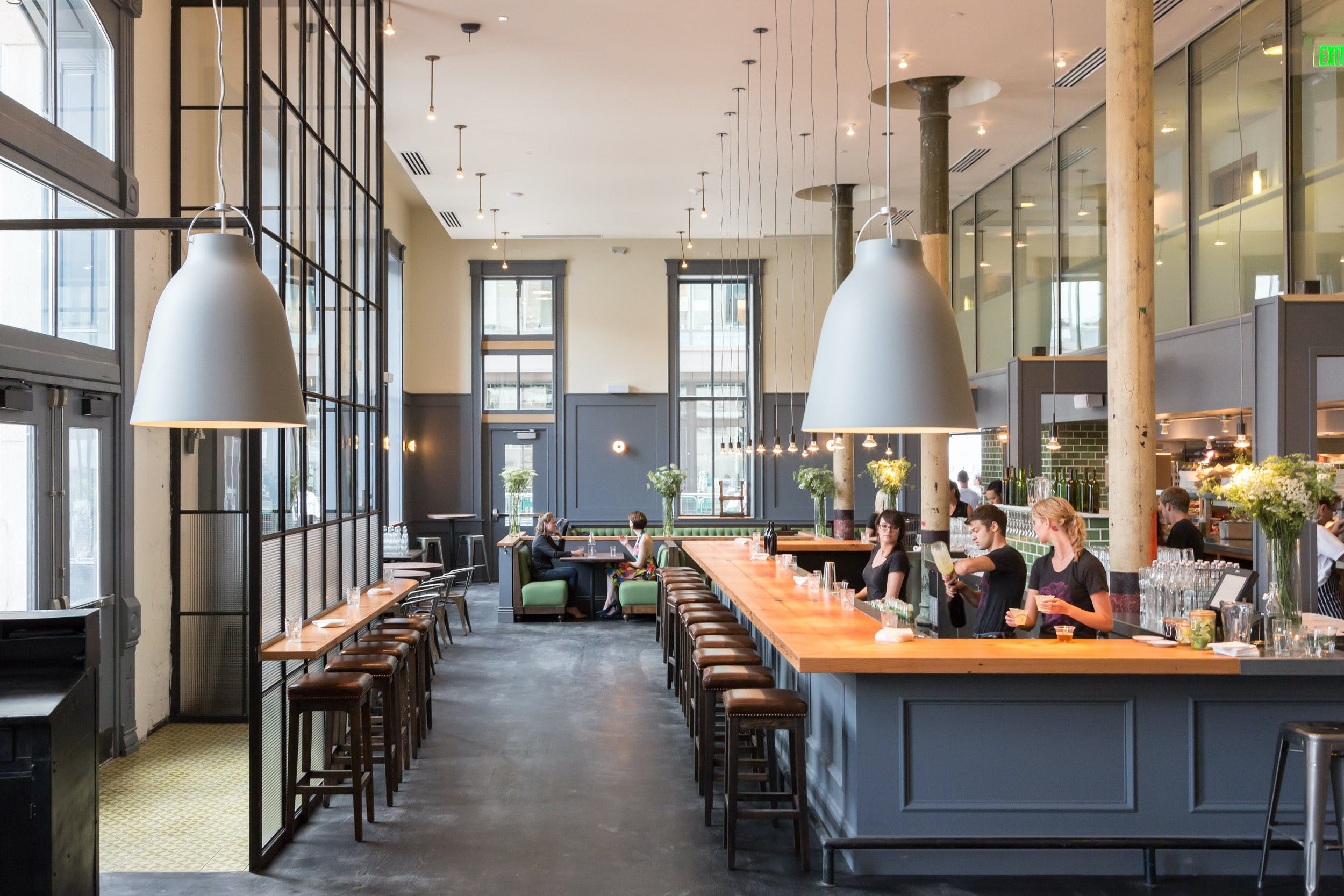 the kitchen | next door: union station | semple brown | architects