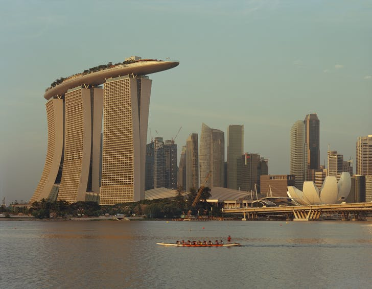 The Marina Bay Sands. Credit: Timothy Hursley courtesy of Safdie Architects