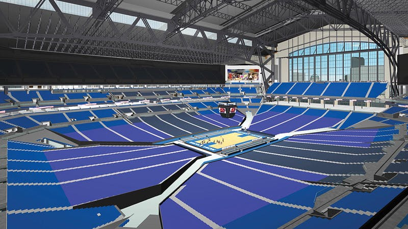 Lucas Oil Stadium J Michael Anderson Archinect