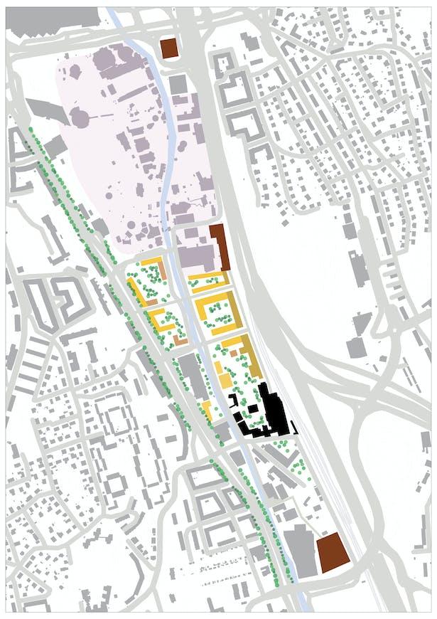 Analyze part I:1:5000 area city expantion proposal