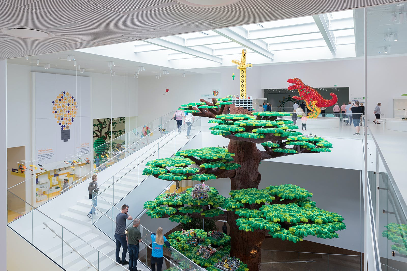 More photos of BIG\'s new LEGO House   News   Archinect