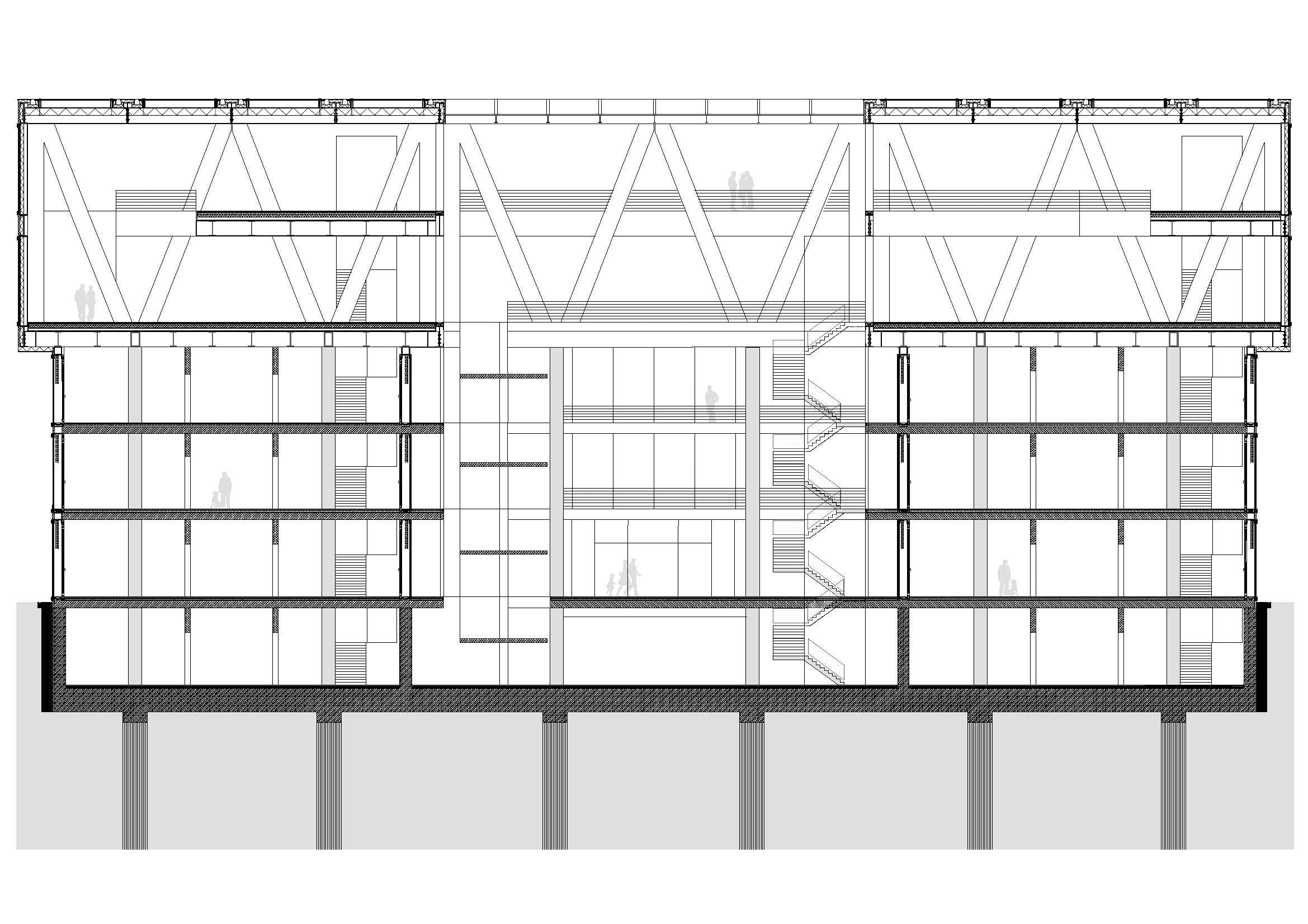 Floor Plan Format Cantilevered Structures Construction Structure