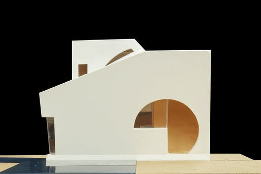 The Ex of In House by Steven Holl Architects. Image courtesy of Steven Holl Architects.